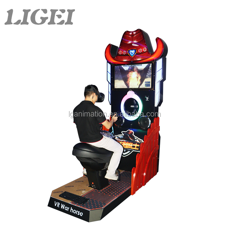 Special crary rider 9D horse riding simulator game amusement park vr horse racing for fun