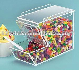 Acrylic Candy Bin/ Acrylic Candy Dispenser/ Acrylic Candy Box