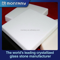 shiny white nano glass raw crystal stones