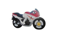 PVC inflatable motorcycle for advertising