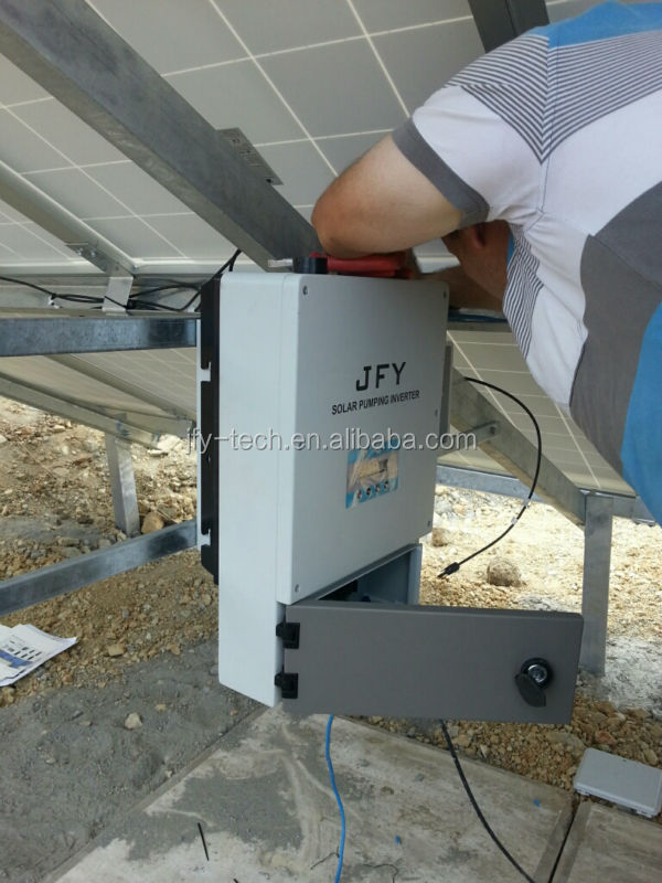 Single phase three phase solar pump inverter irrigation from 0.4KW to 55KW