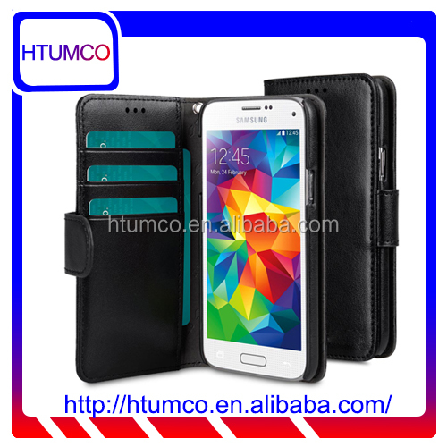 Fashional PU Leather Case Flip Style for Samsung Galaxy S5 Mini