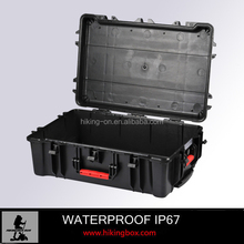 Plastic Equipment case With sponge /Heavy Duty Plastic Military storage Case With Wheels&handles HTC028
