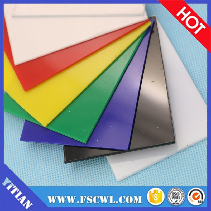 1mm 2mm 3mm Color High Impact Polystyrene Sheets