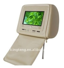 Good Quality 7Inch Headrest DVD With SD/USB/GAME/TV