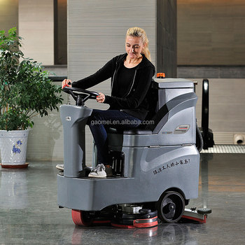 GM-MINI Battery Automatic Cleaning Ride On Compact Disc Floor Scrubber