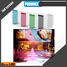 2016 giant screen led giant display P31.25/ P15.625mm transparent led media facade display outdoor advertising led video wall