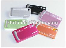 high quality fashion novelty aluminium mobile phone bumper cover case for Iphone 4/4S