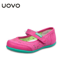 fashion design anti-slip girls pu leather ballet shoes