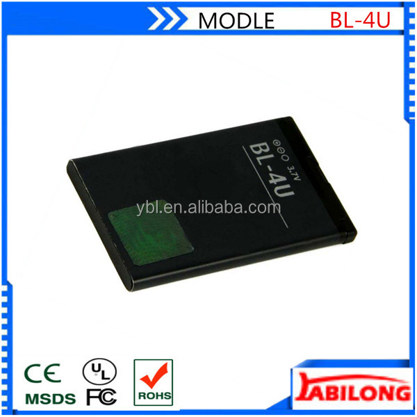 bl-4u 1000mAh li battery for NOKIA 3120c 5250 5330XM 5530XM 5730XM 6212c 6600s 6600is 8800Arte