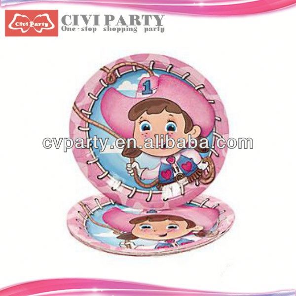 ODM factory Birthday Party Paper Plates paper lucky star fancy paper tray