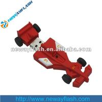 Hot sell promotional race car flash drive