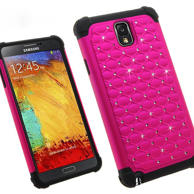 Diamond Quality Screen Cover for Samsung Note 3,Case for Note 3 Screen Cover