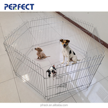 Playpen Large Metal Wire Folding Exercise Yard Fence 6 Panel for Dogs Cats