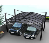 6m*5.5m double carport, car port covers, metal carports for sale