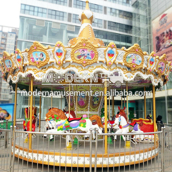 China amusement carousel electric merry-go-round
