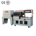 Fully-auto L Type Sealer Shrink Wrap Machine For Small Product With Kissing Conveyor