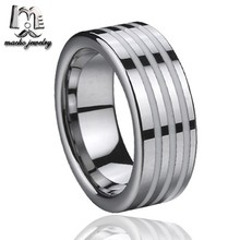 Hot selling beautiful resin inlay fashion tungsten engagement ring istanbul turkey