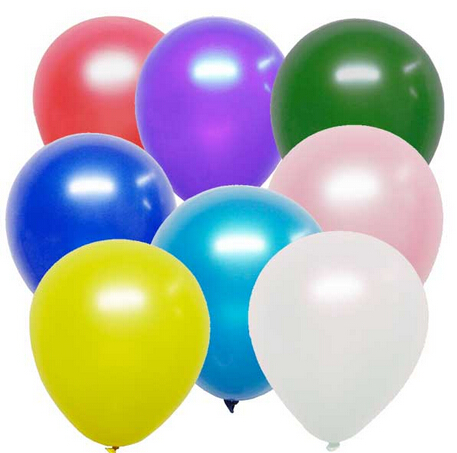 "18"" Gaint Latex Balloon, 9g Wedding Birthday Round Balloon, 50cm Big Balloon"