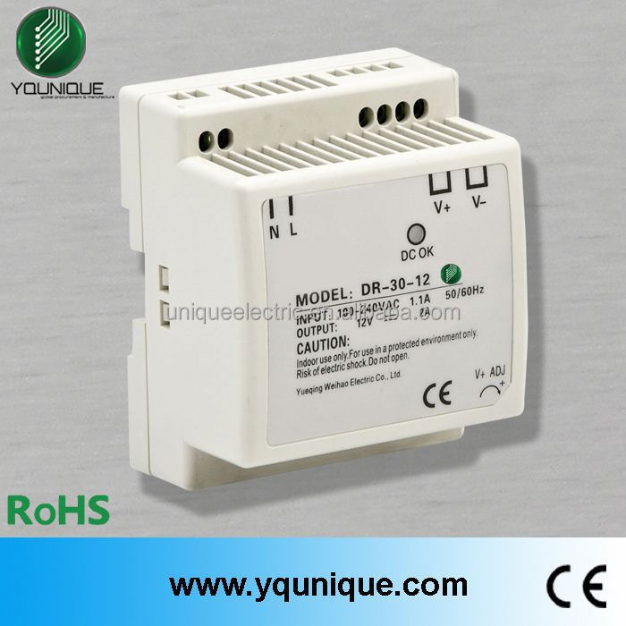 30w 12v DIN Rail Factory Direct wholesale universal China electronics waterproof led power supply
