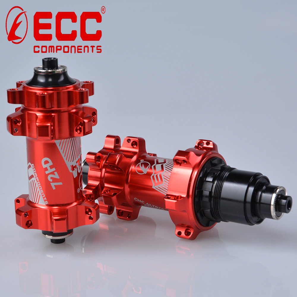 China ECC factory supply yes disc mount bicycle hubs / straight pull bicycle hub / front mtb alloy hub