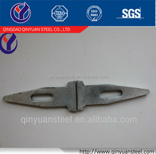 Construction scaffolding wedge pin for formwork
