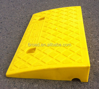 Plastic Yellow Kerb Car Ramp