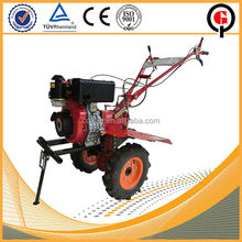 Low noise rotavator in agriculture