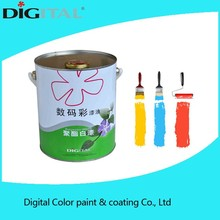 High pollution resistance solid film high gloss white wood pu paint