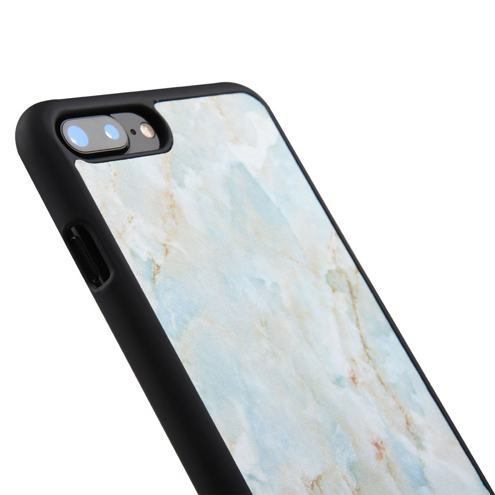 C&T Marble Pattern PU Leather Lightweight Ultra Slim Protective Phone Case for Apple iPhone 7 7 Plus
