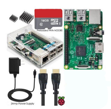 Hot Sale Raspberry PI 3 Model B Board case 1GB RPI 3 Switch USB Cable Kit <strong>1</strong>
