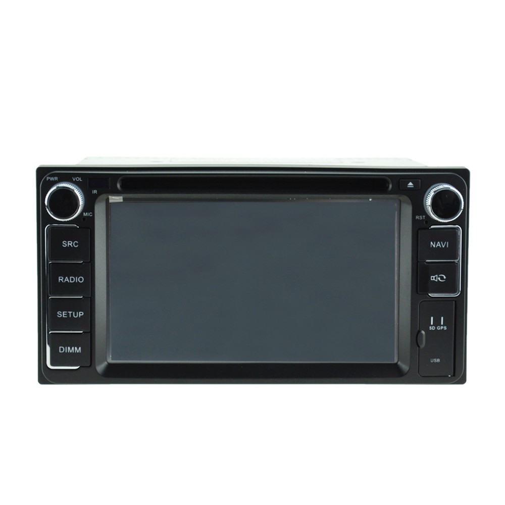 Pure android 5.1 for TOYOTA Universal car dvd player GPS with HD1024*600/Mirror link