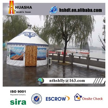 1-2 Person Tent Type Yurt Outside Shop