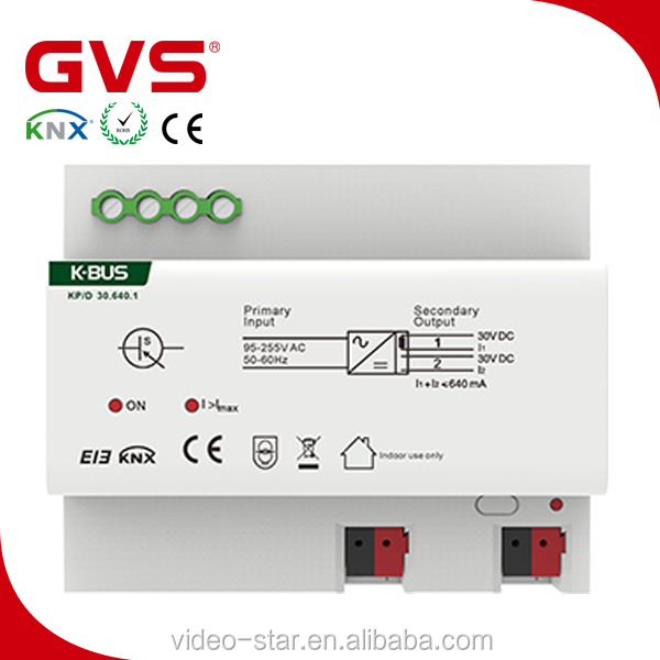 Promotion Wholesale Price GVS KNX Smart Intelligent Home Automatio/Smart Home/ Intelligent System 95-255Vac KNX BUS Power Supply