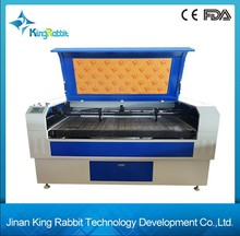 Low Price Leather/Garment/Textile/Fabric Laser Cutting Engraving Machine