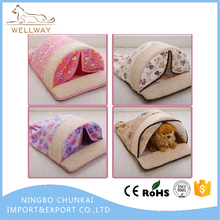 Soft Plush Cloth Pet Cave and Round Pet Bed for Cats and Small Dogs Easily Assembly And Washable