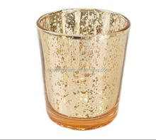 GCH-001Mosaic Glass Candle Holders Tealight Votive Holder for Wedding Home Hotel Bar Party Decor