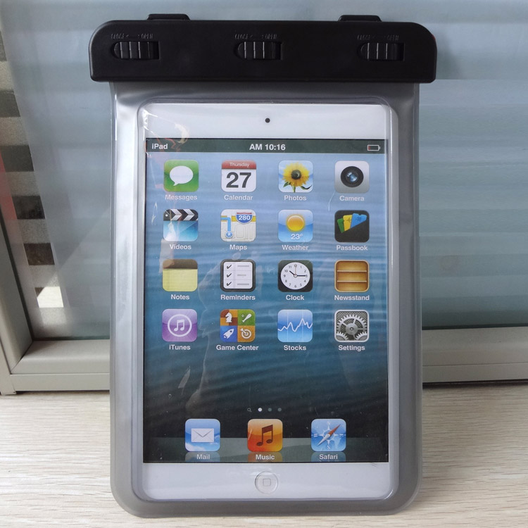 For ipad mini air waterproof bag for swimming diving take photoes