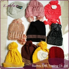 Men Women Unisex Beanie Hat Winter Wool-like cheap Knitted hat