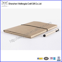 High Quality Paper Cover Kraft Paper Notebook Organizer