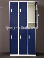 Blue ,yellow cell phone locker/ modular metal school locker/made in China safty office cabinet