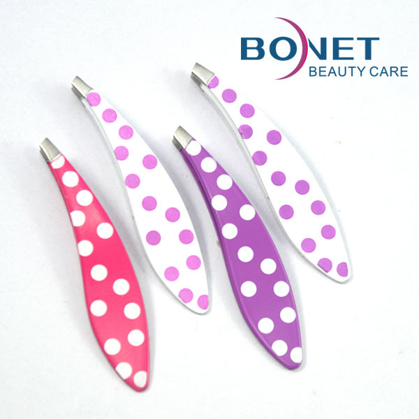 BTZ0262 2014 Cute Mini Eyebrow Tweezers