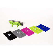 High Quality Silicone Mobile Holder Card One Touch Cell Phone Stand