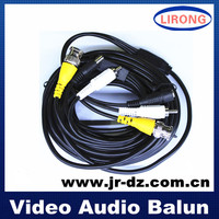 bnc dc rca connector coaxial cable