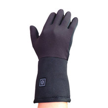 7.4V rechargeable battery heated gloves liner heated gloves