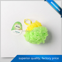 body shower ball polishing shower puff bath sponges for sale