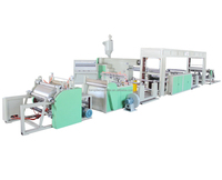 SJDF-1200 PP Non Woven Fabric Laminating Machine