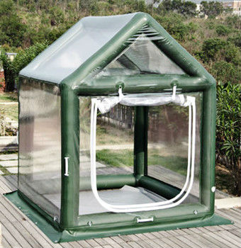 Portable Inflatable Greenhouse, Inflatable Outdoor Plants Pavilion