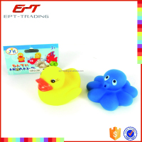 Baby bath toys water squeeze vinyl animal toys