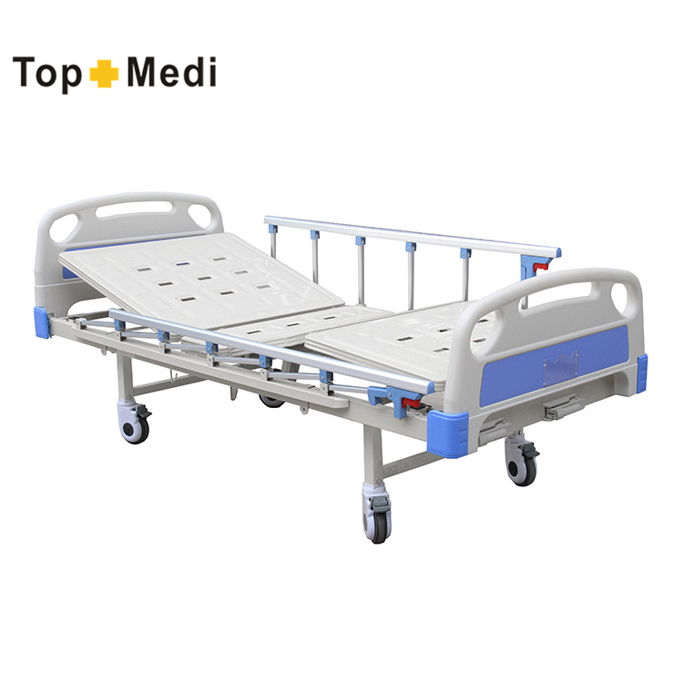 Medical supply 2 cranks manual hospital recliner chair bed lahore pakistan